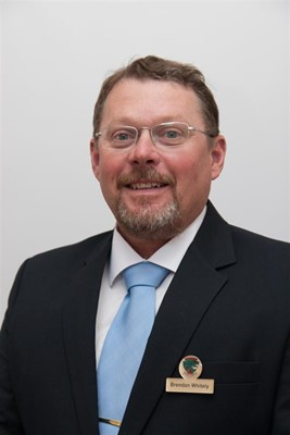 New Council 2015 - Shire President, Councillor Brendan