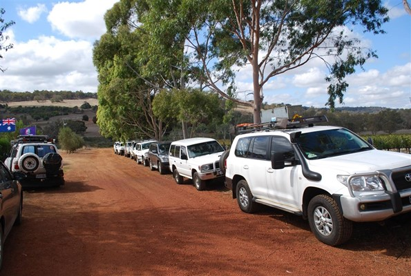 Toyota Landcruiser Club - Lancruisers at Tanglefoot