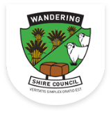 Shire of Wandering logo