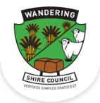 Shire of Wandering logo footer